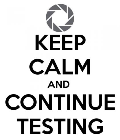Testing solves everything.